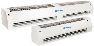 Воздушные (тепловые) завесы Aerotek water